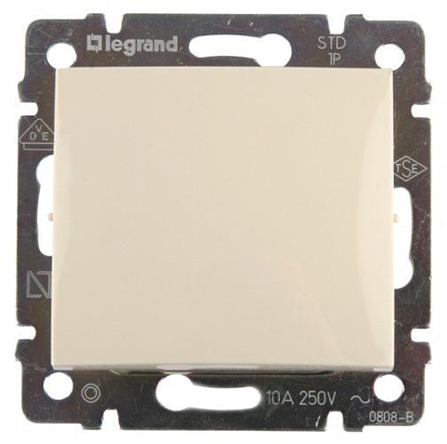 Выключатель Legrand 774306 Cream