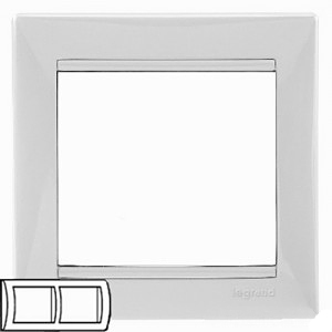 Рамка 2-я Legrand 774452 White