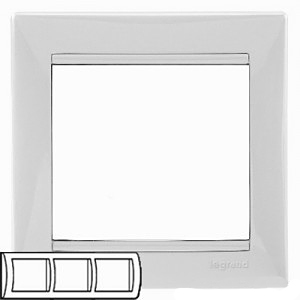 Рамка 3-я Legrand 774453 White