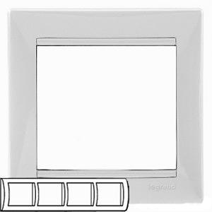 Рамка 4-я Legrand 774454 White