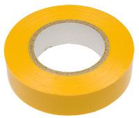 Изолента ПВХ 20м желтая