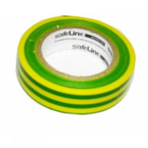 Изолента ПВХ 20м желто-зеленая